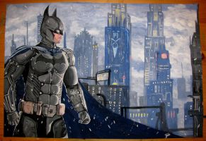 Batman Arkham Origins by Tedi1302