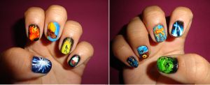 League Of Legends Nail Art by Darylefice