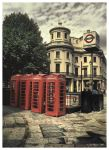 Telephone Boxes by Pajunen