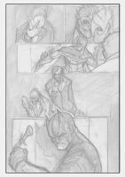 Batman page exercise by shiprock