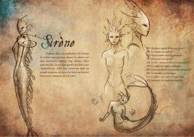 Generation Ecriture's Codex - Mermaid by Tiphs