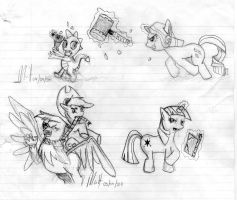 MLP - Fighting is Magic promo by Fundz64