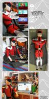 M.Bison mega plush by Shadaloo1989