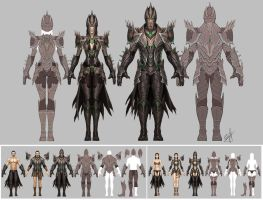Etheron Online: Armor design by engkit