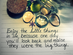 Enjoy the Little Things by XxSafetyPinsxX