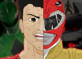 Power Rangers Duality - Jason/Red Draon Ranger by OptimumBuster
