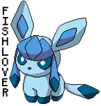 Glaceon Pokedoll Pixel by Fishlover