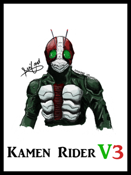 Kamen Rider The Next Coloured by aminkr