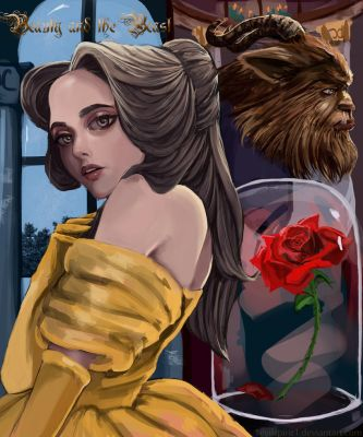 Beauty and the Beast by 1EviLSpirit1