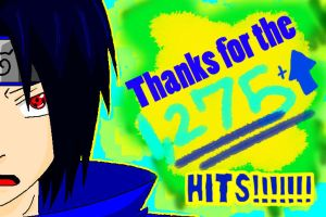 THANKS FOR THE 1,275 HITS by Redstar95