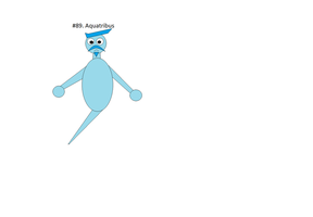 Fakemon: Aquatribus by NPMahoney