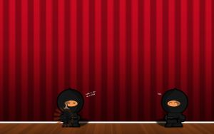 Double ninja wallpaper by tomge