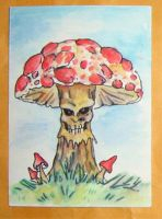 Rotting Shroom by ReverendBonobo