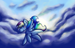 In The Clouds by Wendy-the-Creeper