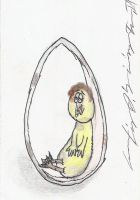 Little Brielle In Her Egg... by citynetter