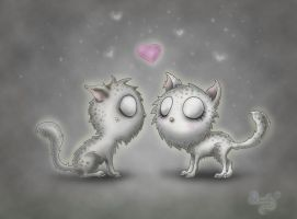 Ghost cats also have feelings by LuckyPrime331