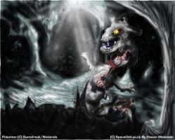 Steelix sort of realistic by spaceodd