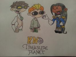 KNDisney - Treasure Planet by xFireChickx