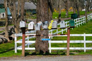 Mailboxes by captainkiddway