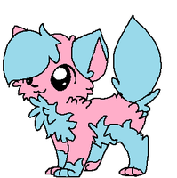 Cotton Candy Fox by Sour-Skittlez