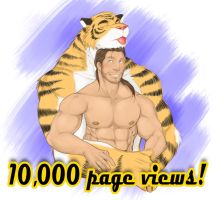 10,000 WOOT! by Alanwakeup