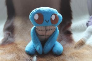 For sale: Squirtle baby plushy by Ymia-the-cheetah