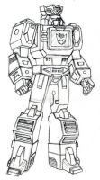 G1 Action Master Soundwave - Charactor Study by DINOM