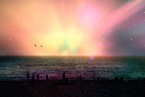 lights beyond the horizon by karcher-photography