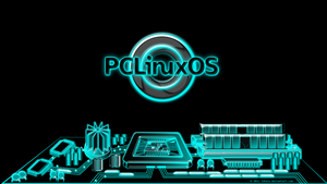 Pclinuxos city, Tron inspired by juhele