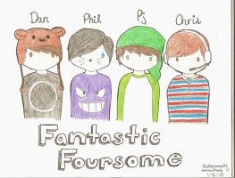 The Fantastic Foursome by problemmatic