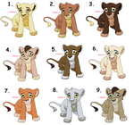 Cub Adoptables ~Closed by Sukida-Adopts