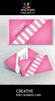 Pinky Business Card by xnOrpix