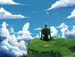 Laputa - Castle In The Sky ~ by harrynanashi