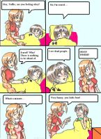 Comic nr.6  Yuffie and Aeris by MadTruffle