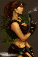 Lara Croft Tomb Raider Underwold by LeksaArt