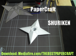 Papercraft Shuriken by bakaneko-kun