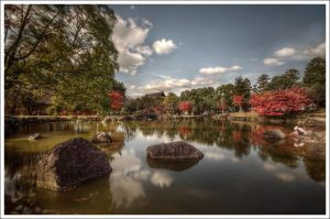 Nara's Lake and the kid by Graphylight