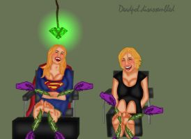 Supergirl + Chole Sullivan by DeadpoolDisassembled