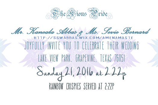 Wedding Invitation Mockup by Seraphoid