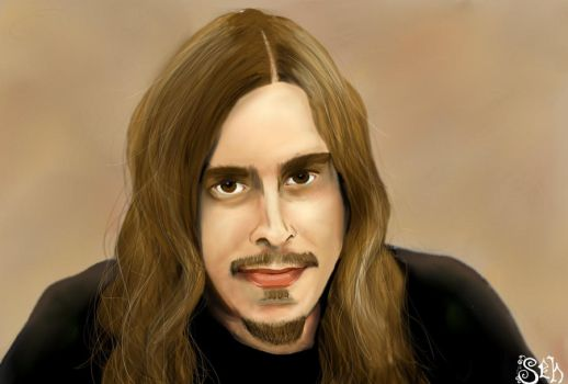 Opeth: Mikael Akerfeldt by battlefate