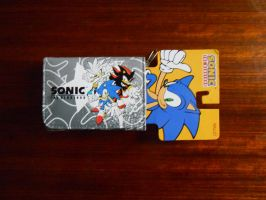 Sonic, Shadow and Silver Wallet by BoomSonic514
