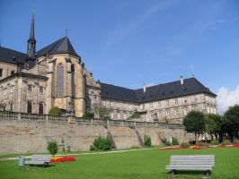Kloster Michaelsberg 5 by Shinigami-xiii