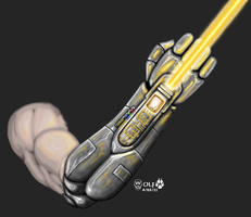 Jedi Prosthetic. by JohnGWolf
