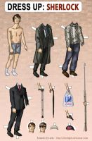 Dress up: Sherlock by alicelights