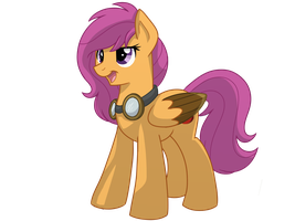 Scootaloo - comic version by Circus-Cinnamon