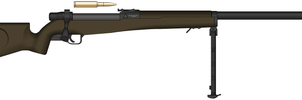 Rifle, Bolt-Action, Caliber .50, Tyrant Model  by Sev-777