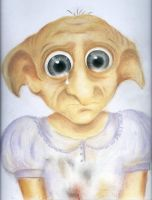 Winky the House Elf Sketch by VivalaVida