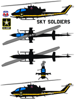 Bell AH-1S Cobra SKY SOLDIERS by bagera3005