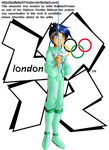 Kyochi at the 2012 London Olympics by Galistar07water