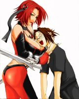 Bloodrayne for Theo by atechnogoddess